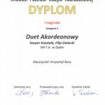Dyplom MŁAWA 2018 DUET II03022018