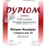 Dyplom KACPER
