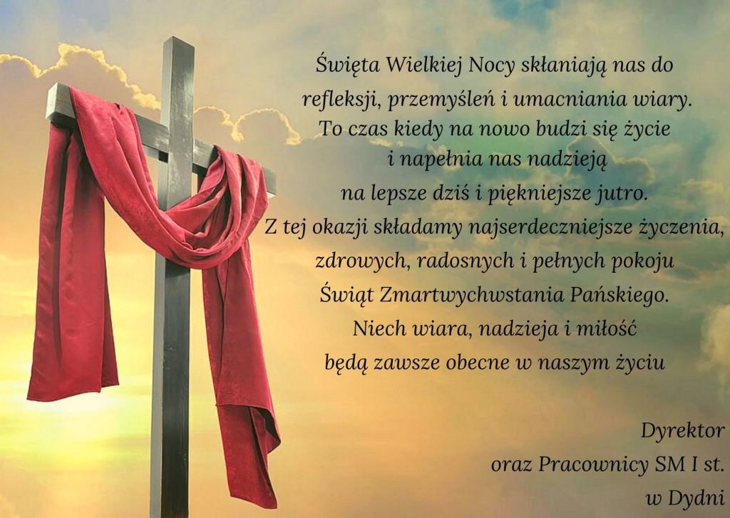 Święta Wielkiej Nocy skłaniają nas do refleksji, przemyśleń i umacniania wiary. To czas, kiedy na nowo budzi się życie i napełnia nas nadzieją na lepsze dziś i piękniejsze jutro (2)