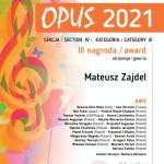 13 Mateusz Zajdel opus Kraków III nagroda-1